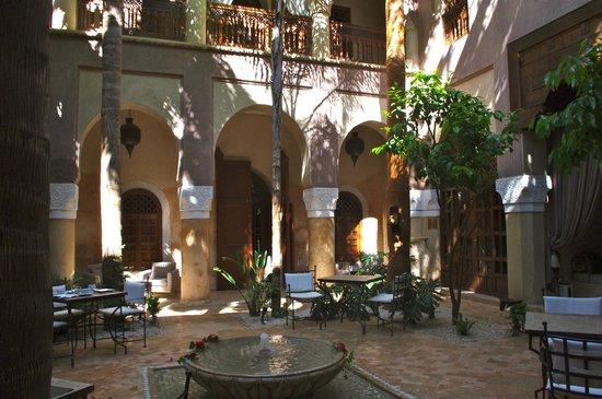 La Villa Nomade : Le patio