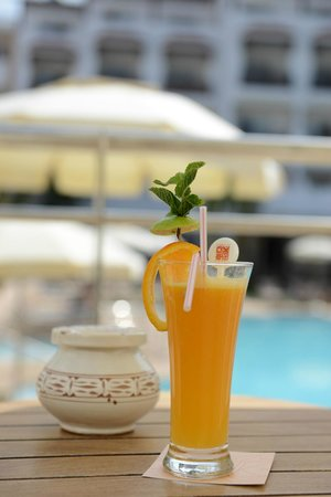 Hotel Timoulay & Spa Agadir: Timoulay Chill out & pool