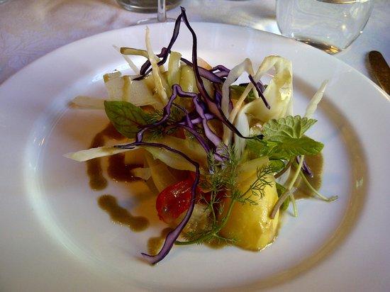 verdure fresche con bagna cauda - Foto di Tre Galline, Torino ...