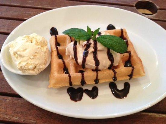 Tiramisu - Picture of He says she waffles, Cirencester - TripAdvisor