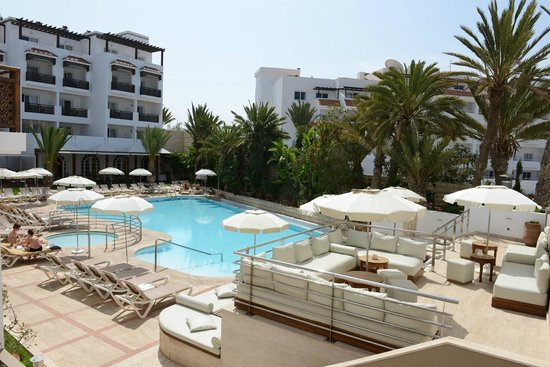 Hotel Timoulay & Spa Agadir : Timoulay pool & Chill out