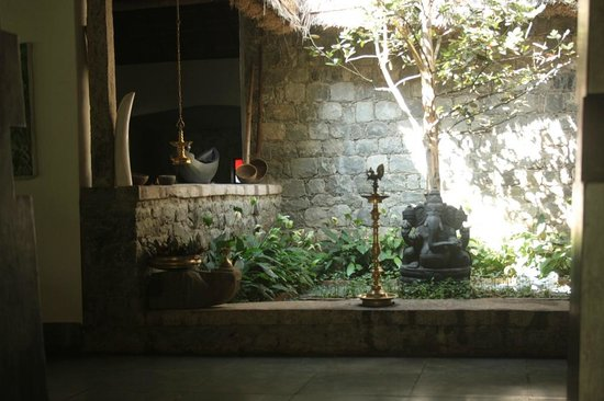 Shalimar Spice Garden - An Amritara Private Hideaway: The hotel reception