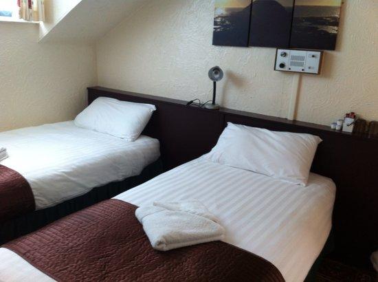 Helmshore Hotel : Twin Room