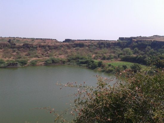 """Bidar Fort: View from the """"Big Cannon"""""""