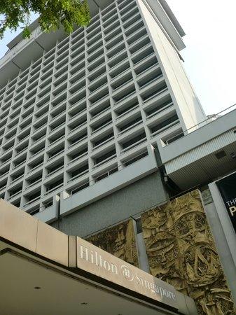 Hilton Singapore: Hotel exterier