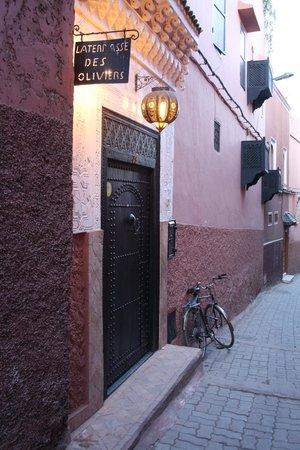 Riad La Terrasse des Oliviers: Eingang