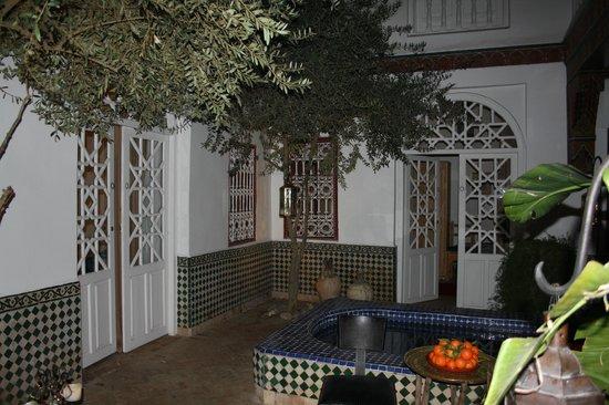 Riad La Terrasse des Oliviers: Innenhof