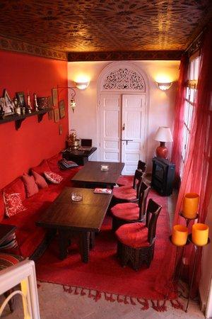 Riad La Terrasse des Oliviers: Sitzecke 1. Etage