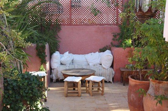 Riad La Terrasse des Oliviers: Dachterrasse