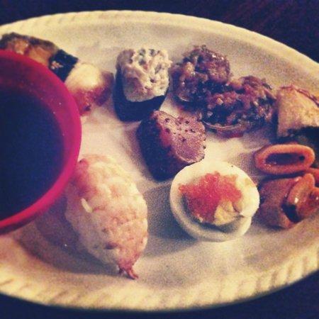 Global Fusion Restaurant : Sushi Platter