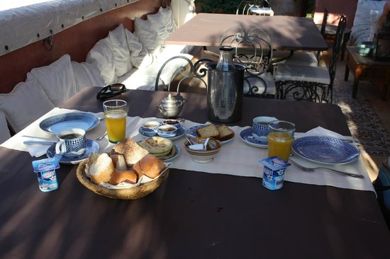 Riad La Terrasse des Oliviers: Frühstück