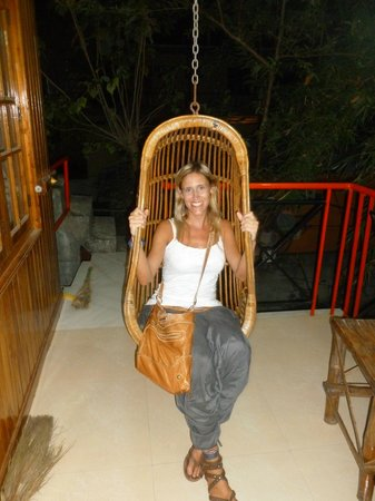 Periyar Seven Hills Homestay : on the porch area