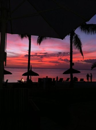 Sugar Beach Resort & Spa: Sunset