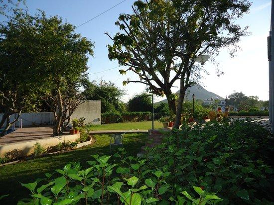 Hotel Sarovar Heritage: Lawn
