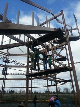 Tayto Park: Great to have completed this with the kids!