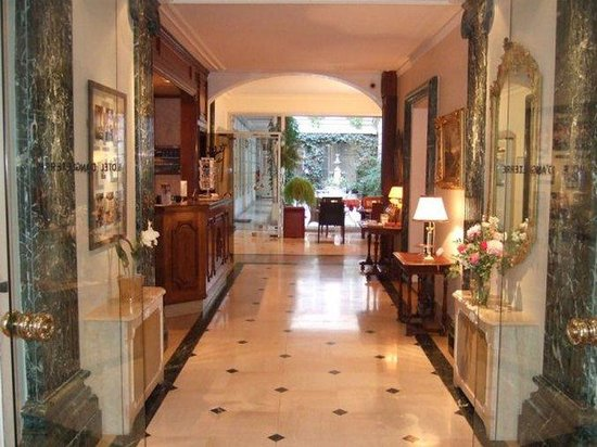 Hotel d'Angleterre, Saint Germain des Pres: Lobby View