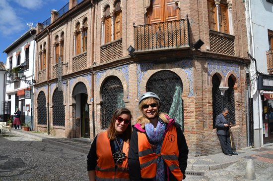 Road Trip: My Wife and our great guide on the tour