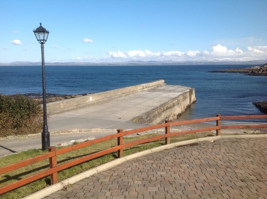 Creevy Pier Hotel: View from hotel