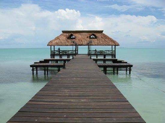 Campeche, Mexico: Entrada a los Tours en Isla Aguada