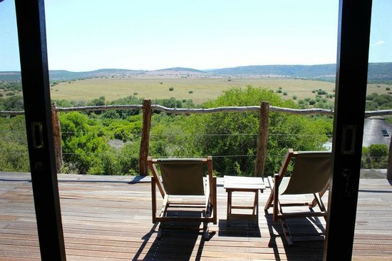 HillsNek Safaris, Amakhala Game Reserve: What a view!