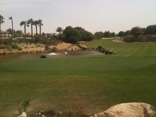 Mirage City Golf Club-J W Mariott: Third hole - par 3