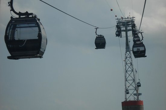 The Jewel Box: In the cable car