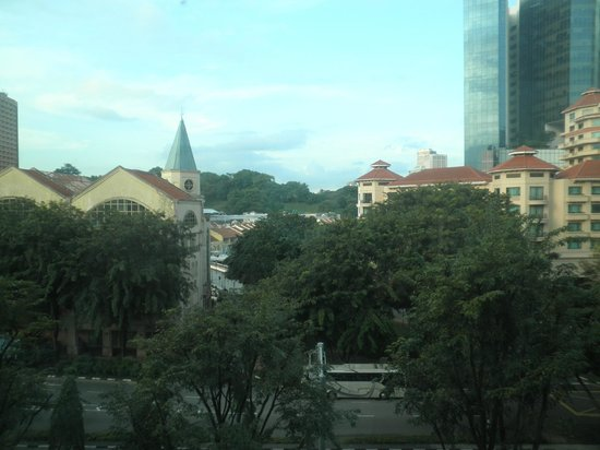 Park Regis Singapore: View towards Clarke Quay
