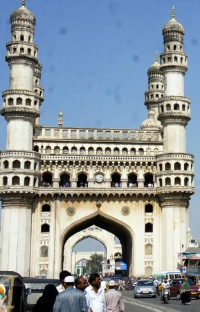 ITC Kakatiya: The lovely Charminar, shot from a moving taxi