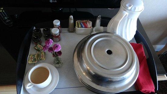 هيلتون فيلادلفيا سيتي أفينو: Breakfast Room Service