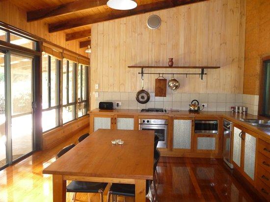 Burnside Organic Farm: Kitchen