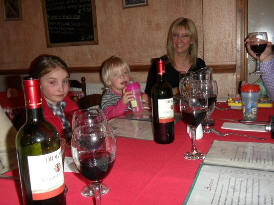 Bella Italia Ristorante: All that wine couldn't be ours - could it?