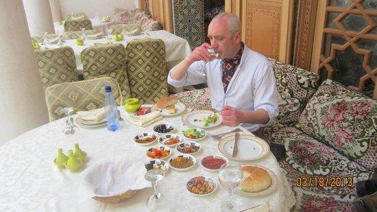 Riad Dar Tim Tam: An English man abroad enjoying lunch
