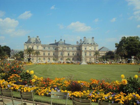 Jardines de luxemburgo picture of paris ile de france for Jardines de luxemburgo paris