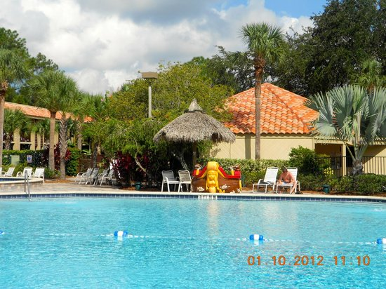 Doubletree by Hilton Orlando at SeaWorld: Our favourite pool
