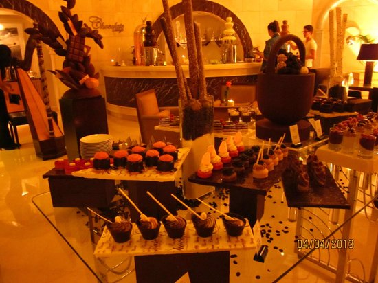 Kempinski Nile Hotel Cairo: The Chocolate Lounge