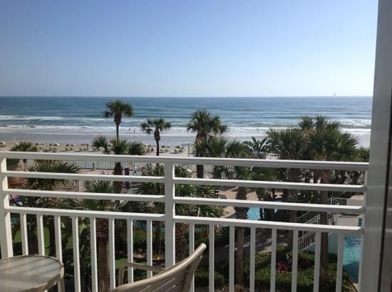 Wyndham Ocean Walk: balcony view