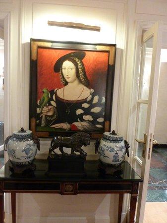 Hotel Francois 1er: лобби