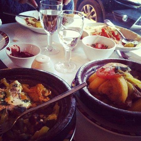 Le Timgad: couscous très bon! :)