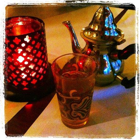 Le Timgad: Thé succulent