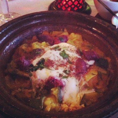 Le Timgad: tchaktchouka entrée délicieuse!!!!!