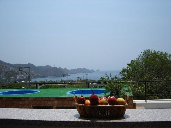 Hotel Kikuxtah : Terraza y vista