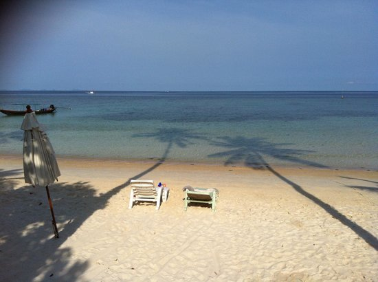 Longbay Resort : The beach