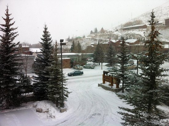 The Lodge at Jackson Hole: View from room