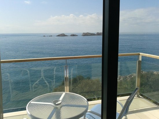 Royal Princess Hotel: Perfect view from the balcony