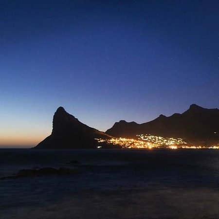 Tintswalo Atlantic: Hout Bay's evening lights