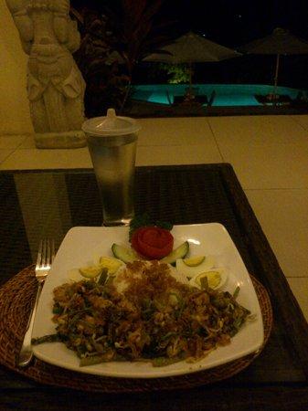 The Hamsa Bali Resort: Heerlijk eten!