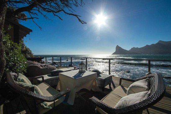 Tintswalo Atlantic: Dining deck view