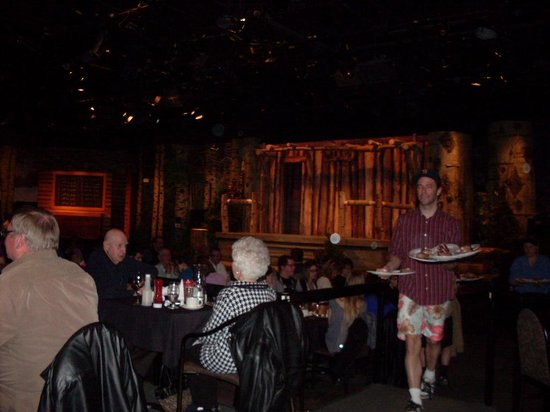 Celebrations Dinner Theatre: here comes dinner