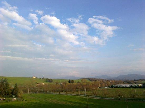 Agriturismo Poggio di Sotto: vista sulle colline