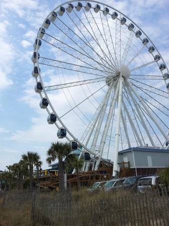 LandShark Bar & Grill Myrtle Beach : View from resturant